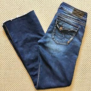 SILVER JEANS   Suki Surplus Flap Pockets 29x31.5
